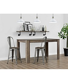 Lainey 24 inch Metal Counter Stool