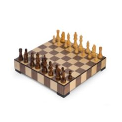 Chess and Checker Set