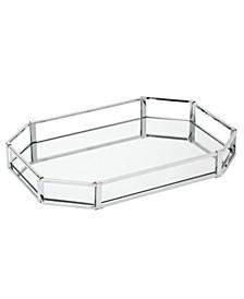 Octagon Design Mirror Vanity Tray