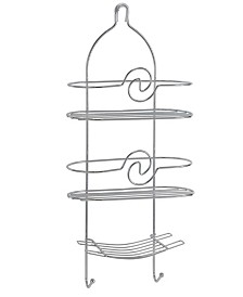Bath Bliss Curved Design Shower Caddy