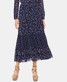 MICHAEL Michael Kors Floral-Print Maxi Skirt