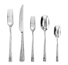 Rosenthal  Sambonet Skin 5 Piece Place Setting 18/10 Stainless Steel