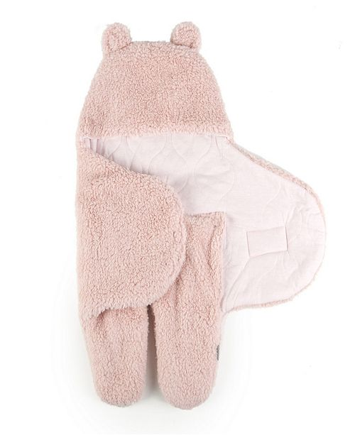 Sleeping Partners International. INC Tadpoles Sherpa Teddy Bear Swaddle Wrap