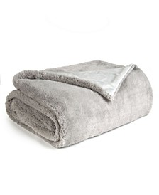 Super Soft Double Layer Faux Fur Throw Blanket