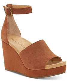 Lucky Brand Women's Yemisa Wedge Sandals