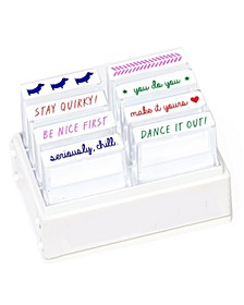 Self-Inking Mini Stamp Set