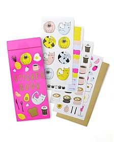 Cats and Brunch Sticker Book