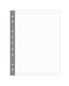 Russell & Hazel Mini Binder Smartdate Filler Dot Paper