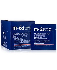 m-61 by Bluemercury Hydraboost HA Serum Pad, 30-Pk.
