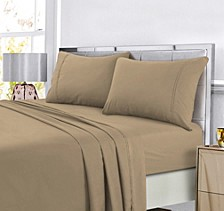 Super Soft Solid DP Easy-Care Extra Deep Pocket Queen Sheet Set