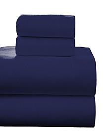 Superior Weight Cotton Flannel Sheet Set - Queen