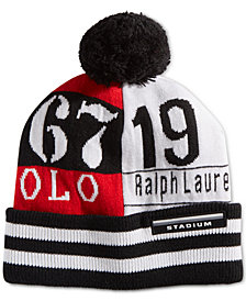 Polo Ralph Lauren Men's RL67 Colorblocked Pom Pom Hat
