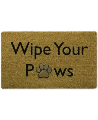 "Image of Bacova Wipe Your Paws 18"" x 30"" Doormat"