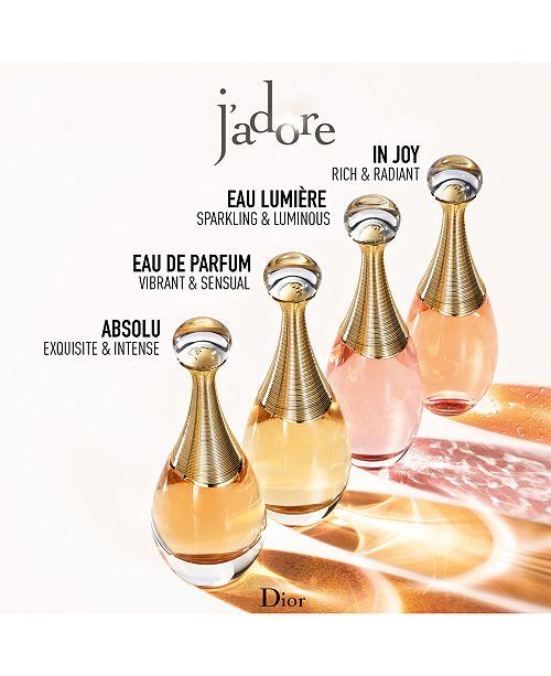 What Does J Adore Perfume Smell Like: Dior J'adore Eau De Parfum Spray, 3.4 Oz & Reviews