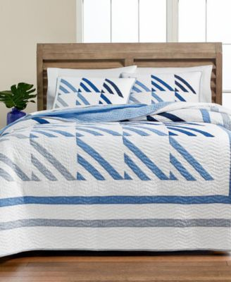 Nautical Sails Twin Quilt, Created for Macy's