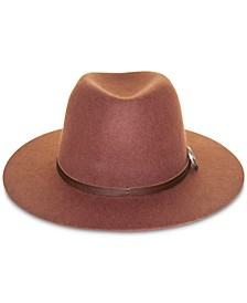 Wool Cadet Table-Top Brim Hat
