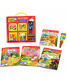 Educational Insights Hot Dots Jr Famous Fables Interactive Storybook Set With Ollie Pen