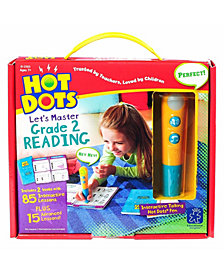 Educational Insights Hot Dots Let's Master Grade 2 Reading Set With Talking Pen