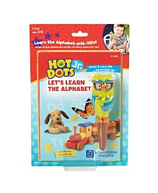 Educational Insights Hot Dot Jr Let's Learn The Alphabet Interactive Book and Pen Set