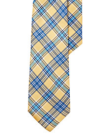 Polo Ralph Lauren Men's Tartan Silk Tie