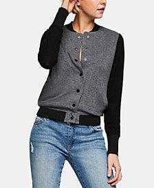 BCBGeneration Varsity Sweater Jacket