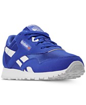 Reebok Boys  Classic Nylon MU Casual Sneakers from Finish Line 93f7edd0a