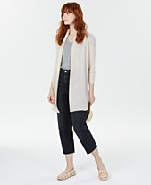 Charter Club Rolled-Edge Pure Cashmere Cardigan d06feb658