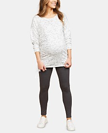 Motherhood Maternity Fleece Leggings