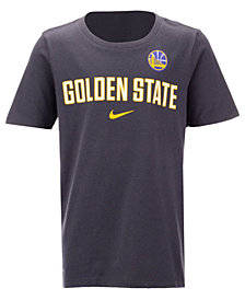 Nike Golden State Warriors Facility T-Shirt, Big Boys (8-20)