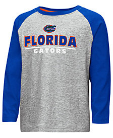 Colosseum Florida Gators Long Sleeve Raglan T-Shirt, Toddler Boys (2T-4T)