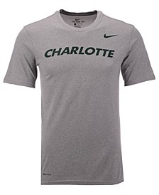Men's Charlotte 49ers Dri-Fit Legend Wordmark T-Shirt
