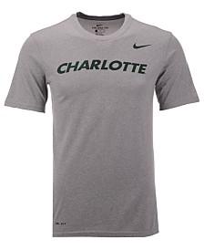 Nike Men's Charlotte 49ers Dri-Fit Legend Wordmark T-Shirt