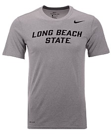 Nike Men's Long Beach State 49ers Dri-Fit Legend Wordmark T-Shirt