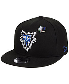 New Era Minnesota Timberwolves Hardwood Classic Nights Pin 9FIFTY Snapback Cap