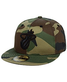 Miami Heat Fall Prism Pack 59FIFTY-FITTED Cap