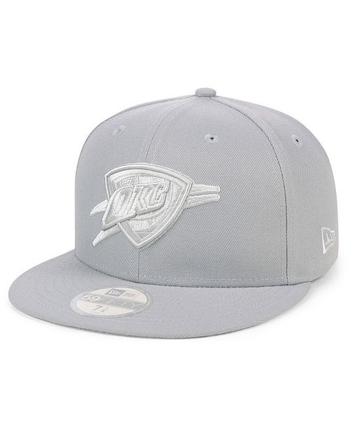 online store 74f76 d3efa ... white word thunder nba new era 59fifty fitted hat de7ac 95567  discount  oklahoma city thunder fall prism pack 59fifty fitted cap. be the first to  write
