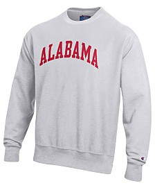 Champion Men's Alabama Crimson Tide Reverse Weave Crew Sweatshirt