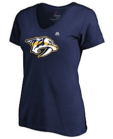 Majestic Women's Nashville Predators Primary Logo T-Shirt