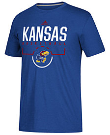 adidas Men's Kansas Jayhawks On Court Practice T-Shirt