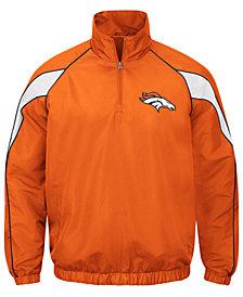 G-III Sports Men's Denver Broncos Juke Player Lightweight Pullover Jacket