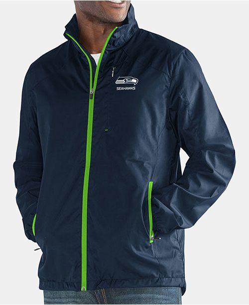 7950d32c6 ... G-III Sports Men s Seattle Seahawks Movement Player Lightweight Jacket  ...