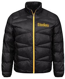 G-III Sports Men's Pittsburgh Steelers The Blitz Player Front Zip Jacket