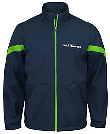 G-III Sports Men's Seattle Seahawks The Franchise Player Front Zip Jacket