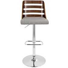 Lumisource Trevi Adjustable Barstool