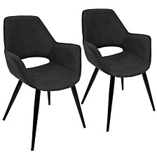 Lumisource Mustang Chair in Set of 2
