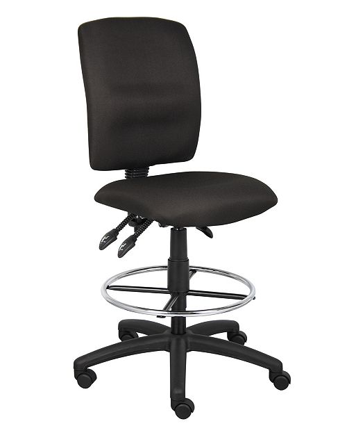 Boss Office Products Multifunctional Drafting Stool