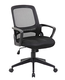 Boss Office Products Mid Back Guest Chair