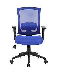 Boss Office Products 3 Paddle Task Chair with Seat Slider