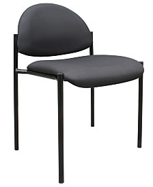 Boss Office Products Mid Back Guest Chair with Cantilever Base