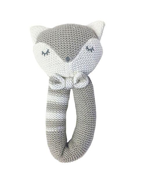 Living Textiles Lolli Living Knit Rattle